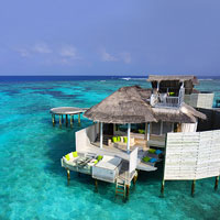 Maldives resorts review - Six Senses over water villas have a rustic chic feel