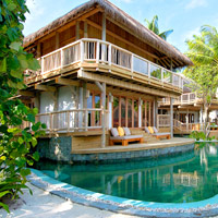Soneva Fushi serves up rustic chic for couples or families