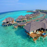 Sun Siyam Irufushi review, luxury over water villas