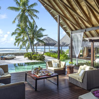 Maldives resorts review, Shangri-La pool villa for a romantic holiday