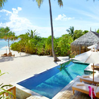 Top Maldives spa resorts, Six Senses Laamu Ocean Villa