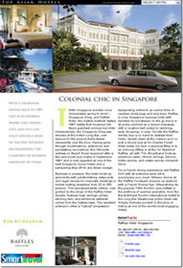 Top Asian Hotels A4 page