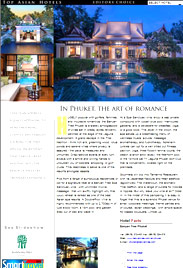 Top Asian Hotels A4 page for St Regis Chengdu