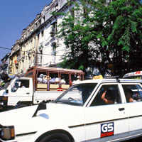 Yangon guide to transport, taxi