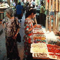 Yangon shopping guide, Central Market stalls