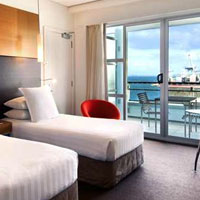 Hilton hotel, Auckland, New Zealand, is a business traveller favourite