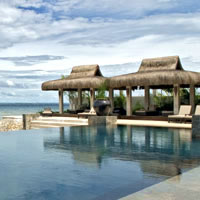 Cebu boutique resorts, abaca pool image