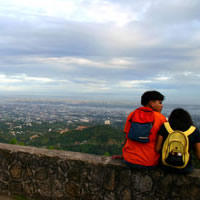 Cebu scenery, top views