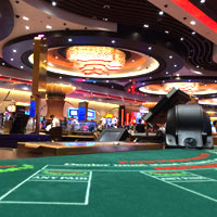 Manila casinos for high rollers, gaming area at City of Dreams COD Manila