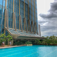 New Grand Hyatt Manila at BGC, vast pool