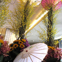 Manila hotels for Japanese travellers, Nobu lobby arrangement