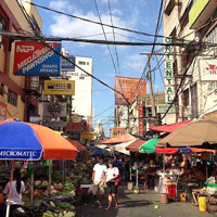 Manila fun guide, shopping and street food in Quiapo