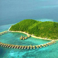 Palawan dive resorts and spa escapes, Huma Island Resort in Busuanga