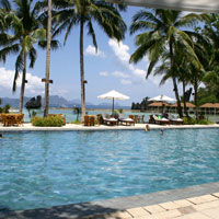 El Nido Lagen Island Resort is a popular family-friendly choice