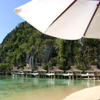 Palawan child-friendly resorts, El Nido Miniloc Island Resort
