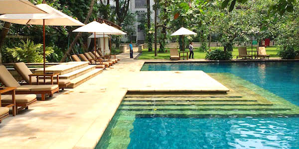 Grand Hyatt Bali is one of the best family-friendly hotels in Asia and it serves up an incredible five swimming pools
