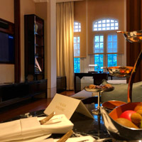 Singapore luxury hotels, Capitol Kempinski suite