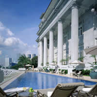 Fullerton, best Singapore business hotels, ask for a river-facing room