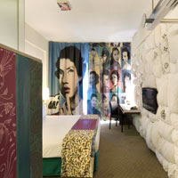 Singapore hip hotels, Gallery room