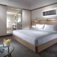 Singapore business hotels, Pan Pacific room