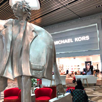 Changi Airport offers good duty-free shopping options, Michael Kors