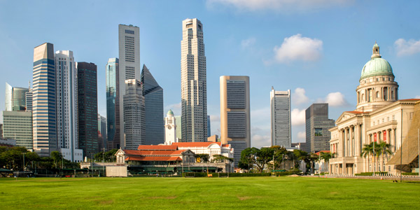 Singapore business hotels review, Central Business District