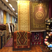 Persian carpets at Arab Street