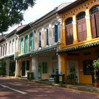 Emerald Hill off Orchard has restaurants and pubs
