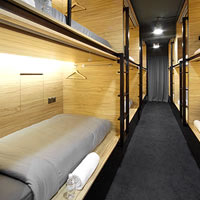 Singapore pod hotels, The POD bills itself as a capsule hotel