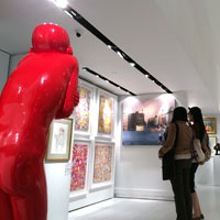 Singapore shopping guide to art, Raffles City gallery