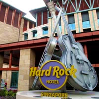 Child-friendly Singapore resorts, Hard Rock Hotel, Resorts World