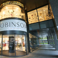 Robinsons store at The Hereen, Singapore shopping in style