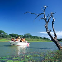 Bonamanzi River ride, Africa Safari