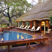 Africa luxury resorts in game parks, Imbali