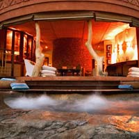 Africa luxury resorts in game parks, wellness room, Thanda Phoca