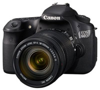 DSLR camera reviews, we look at the Canon EOS 60D and compare it with others in the same class