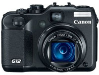 Digital Cameras review - Canon PowerShot G12 shoots video at 720p and 24fps