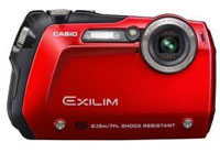 Shockproof, water proof compact digital camera reviews, Casio EX G1