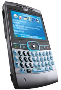 Smartphone Motorola Q for e-mail, music and more
