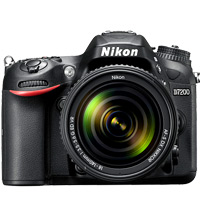 Nikon D7200 offers WiFi connectivity