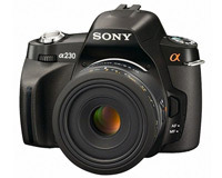 SLR Digital Cameras review - SONY Alpha 230