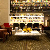 eslite hotel offers a retreat for book lovers and businessmen alike