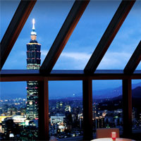 Taipei nightlife guide, Marco Polo lounge at Shangri-La Far Eastern Plaza