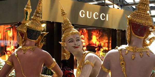 Bangkok shopping guide to duty free and airport sales - gods and demigods join the brand queue