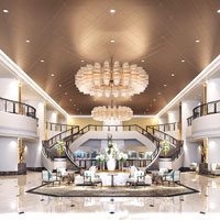 Top Bangkok conferences hotels, The Athenee Hotel Bangkok, The Luxury Collection, grand staircase