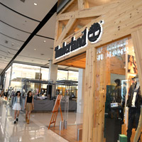 Shopping in Bangkok? You can't get more central than CentralWorld, Timberland