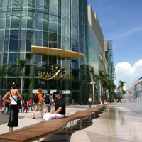 Siam Paragon is a vast and glitzy shopping mall