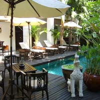 Chiang Mai boutique hotel, Tri Yaan Na Ros