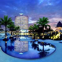 Hua Hin child friendly hotels, Courtyard by Marriott on Cha-Am beach