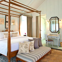 Cha-am boutique hotels, Devasom is a top choice with a colonial feel